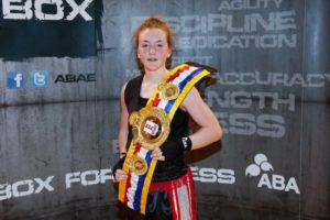 Hull Saints Boxer Millie O'Neill is to represent Great Britain