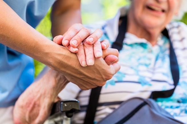 Nursing home resident Experts warn of imminent catastrophic failures in NHS social care