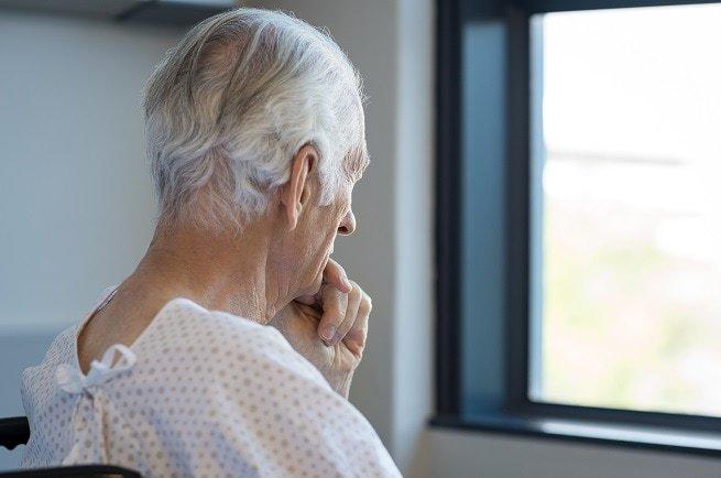 Sad elderly man | Care Home Neglect Claims