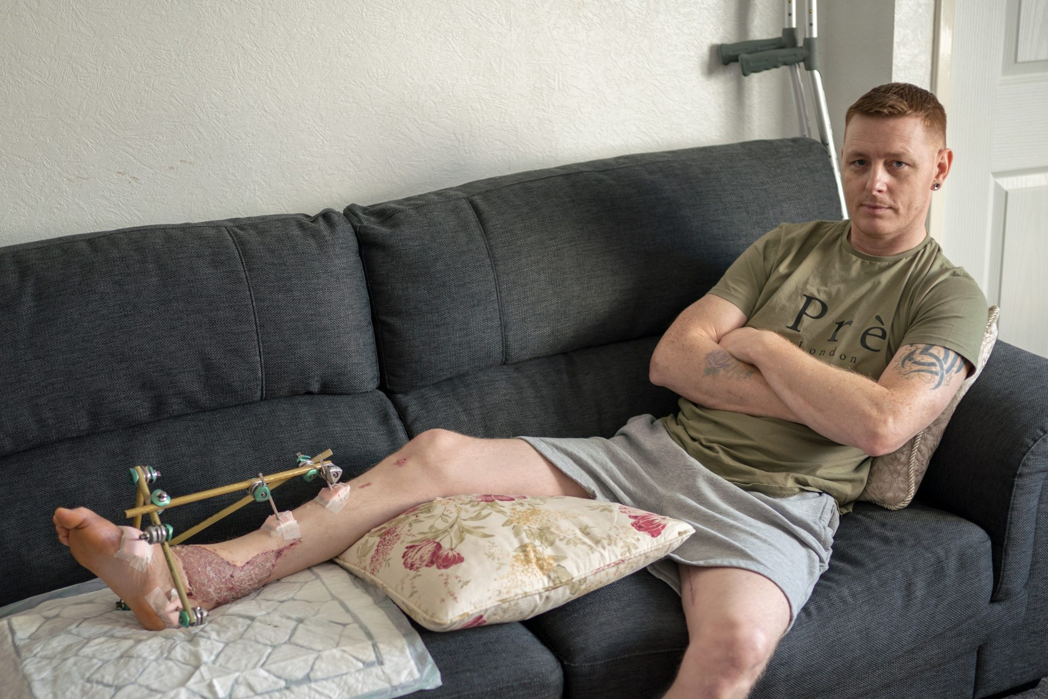 Stuart Sunderland injury