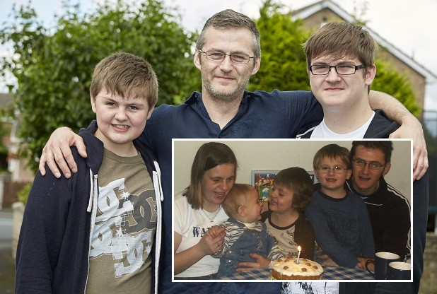 Barrie Steeley and family