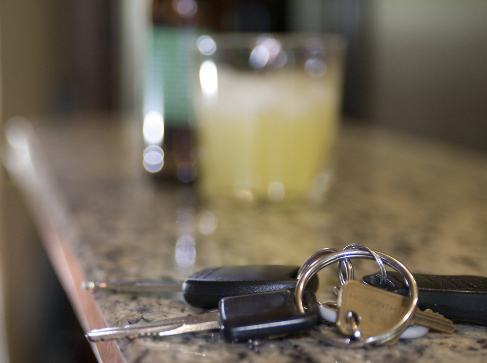 Car Keys on bar