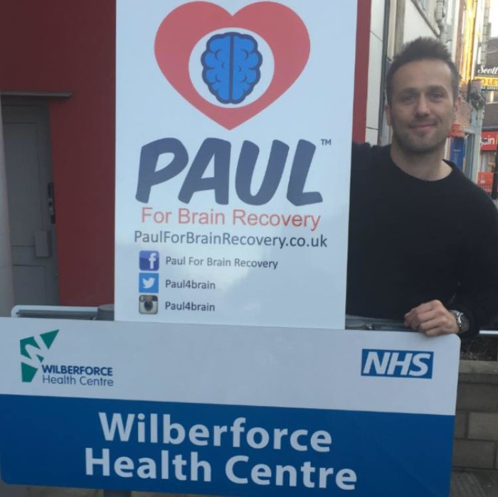 Paul Spence at the Wilberforce Health Centre