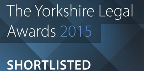 Hudgell Solicitors shortlisted in two categories at Yorkshire Legal Awards 2015