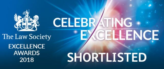 Neil Hudgell shortlisted for highest national accolade for lawyers