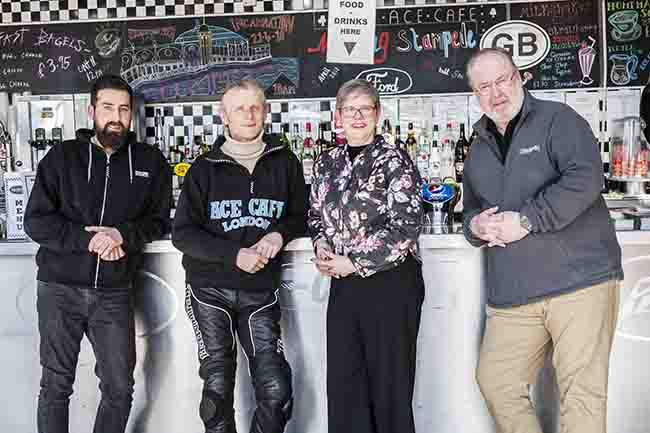 Hudgell Solicitors joins forces with iconic London motor cafe in milestone year
