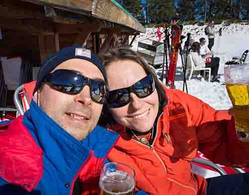 Brits remain carefree about skiing drunk on winter sports breaks despite known dangers