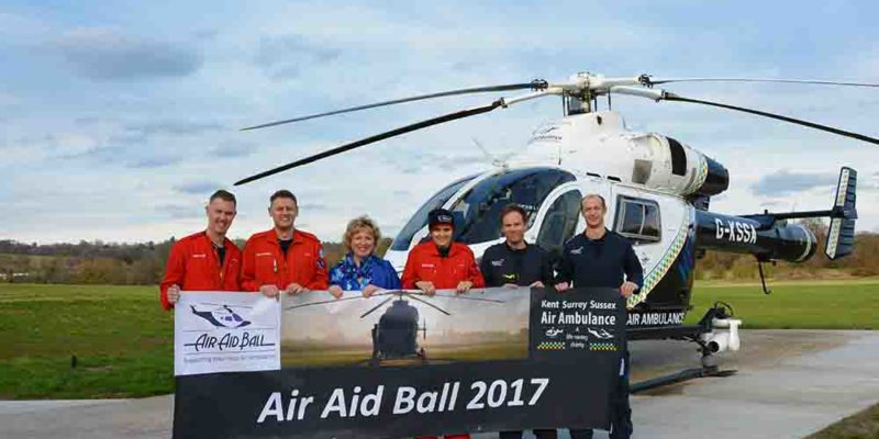 Sixth Air Aid Ball provides vital support for local Air Ambulance