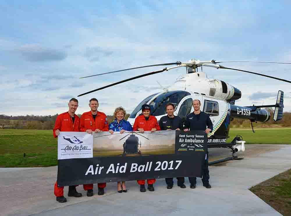 Sixth Air Aid Ball provides vital support for local Air Ambulance
