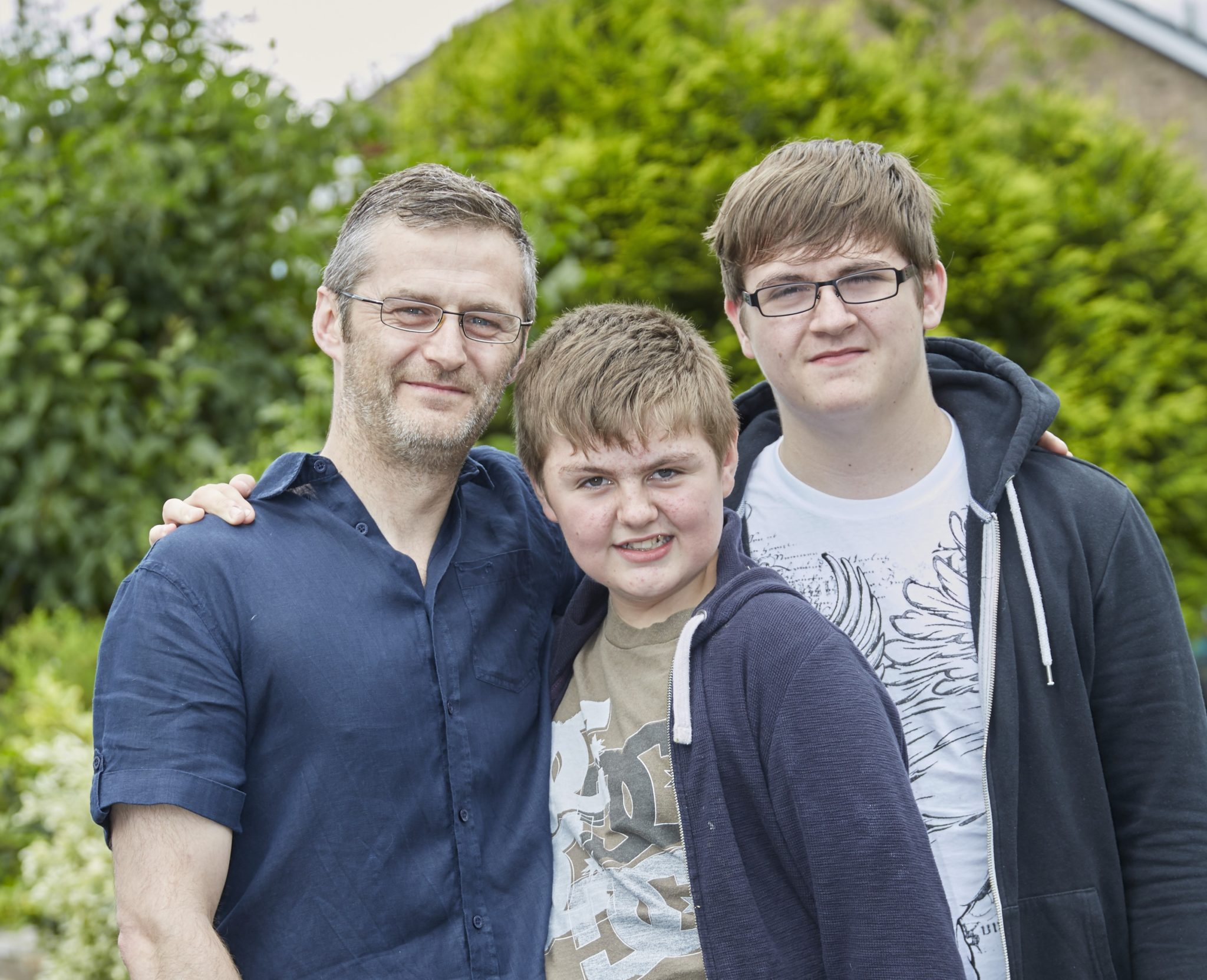Barrie Steeley family