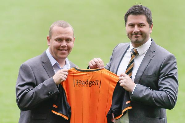 Hudgell Solicitors' new branding appears on Hull City shirt for 2015/16 as firm sponsors Tigers