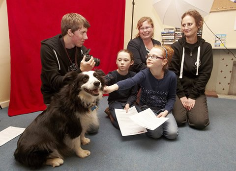Filming starts on new video to reduce dog attacks on children