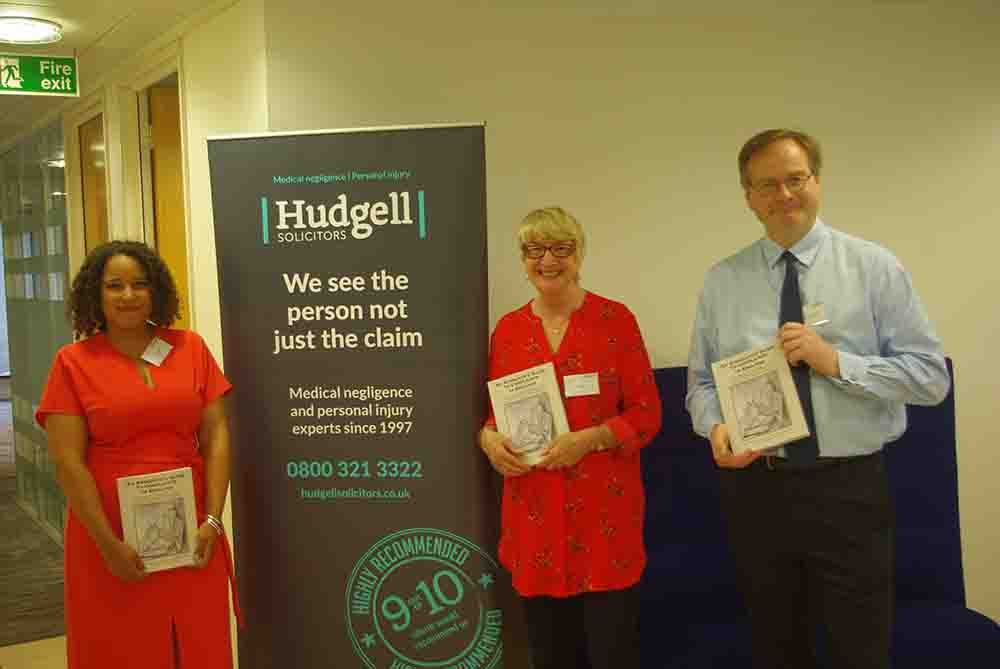"Hudgell Solicitors hosted the book launch of ""An Advocate's Guide to Complaints in England"""