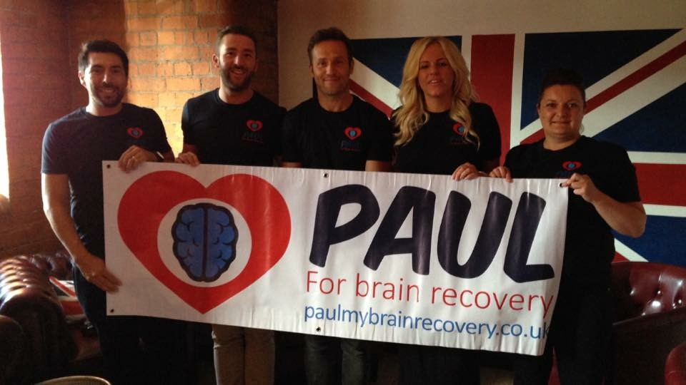 Paul For Brain Recovery achieves official charity status – and secures England rugby coach as patron