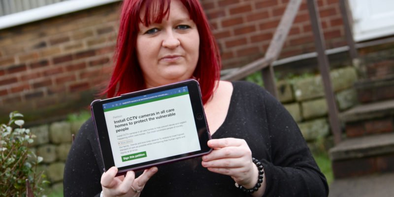Thousands sign the petition for CCTV in care homes – now changes have to be made to protect the vulnerable