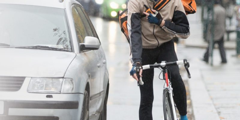 Cyclist was partly at fault for accident but able to claim £48,500 in damages for his injuries