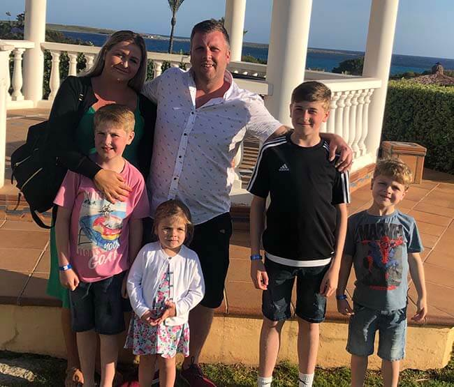 Investigations as children admitted to hospital suffering from sickness and diarrhoea on holiday in Menorca