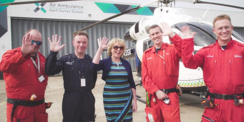 Supporting the inspirational and life-saving Air Ambulance Kent Surrey Sussex