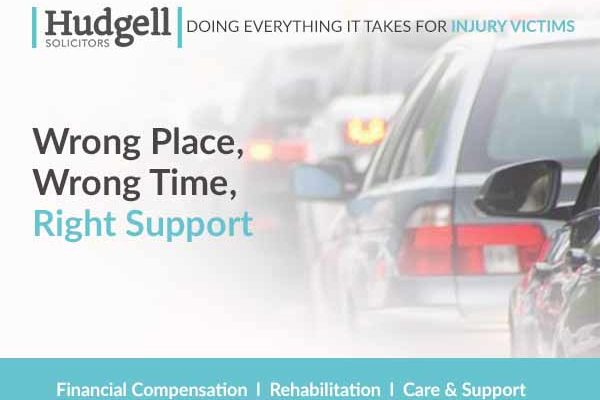 Hudgell Solicitors launches pledge to do 'Everything It Takes' for people injured in accidents on the roads