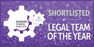Hudgell Solicitors' Clinical Negligence department shortlisted for Legal Team of the Year Award