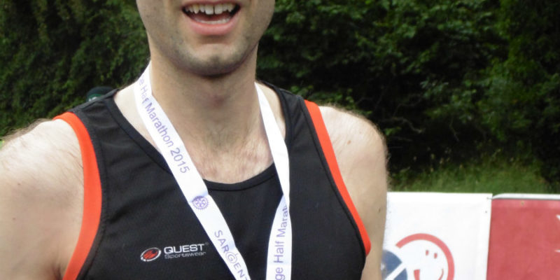 Matthew heads off to New York City Marathon after securing a spot through the Humber Bridge Half Marathon