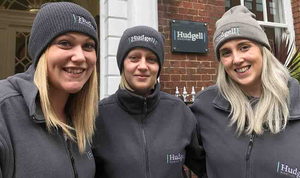 Hudgell Solicitors staff prepare for a night sleeping on the street to support Leeds-based charity helping city's 'homeless and rootless'