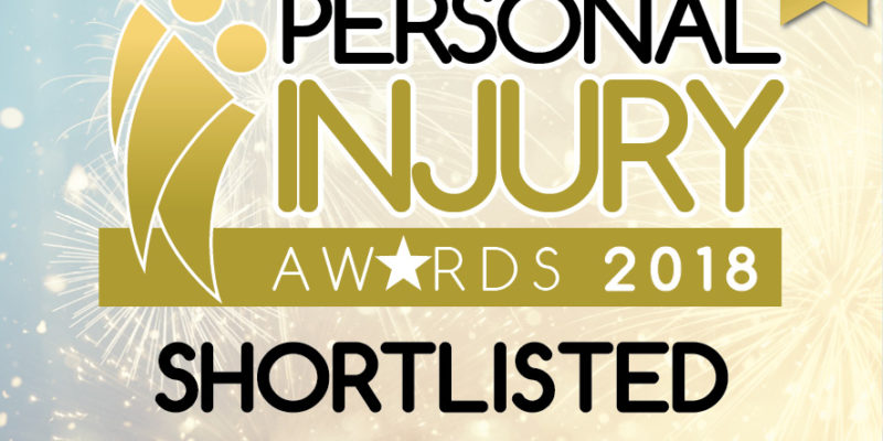 Landmark rulings and settlements lead firm to industry recognition at 2018 Personal Injury Awards