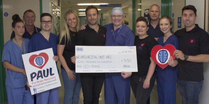 Hudgell Solicitors ambassador donates £7,650 to Hull Royal Infirmary through fundraising efforts