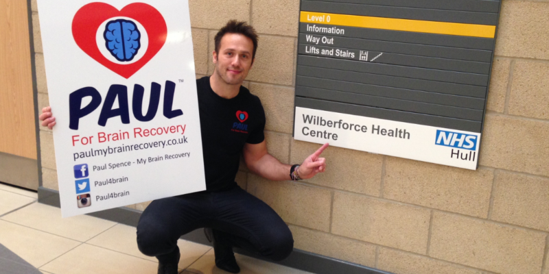 Ambassador Paul Spence secures premises to open Brain Injury support centre in 2016