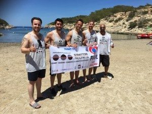 Paul Spence Ibiza Challenge: Day 4 – Support inspired me to my greatest achievement