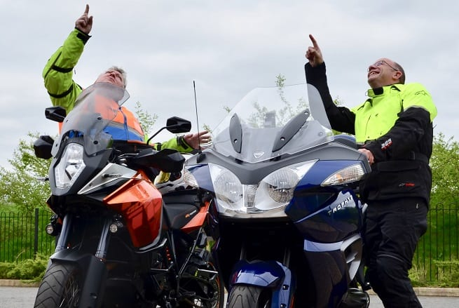 Hudgell Solicitors supports motorbike enthusiasts riding more than 1,900 miles to raise vital air ambulance funds