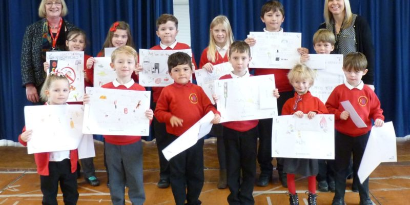 Hull pupils have strong messages for family and friends after taking part in poster competition for Road Safety Week