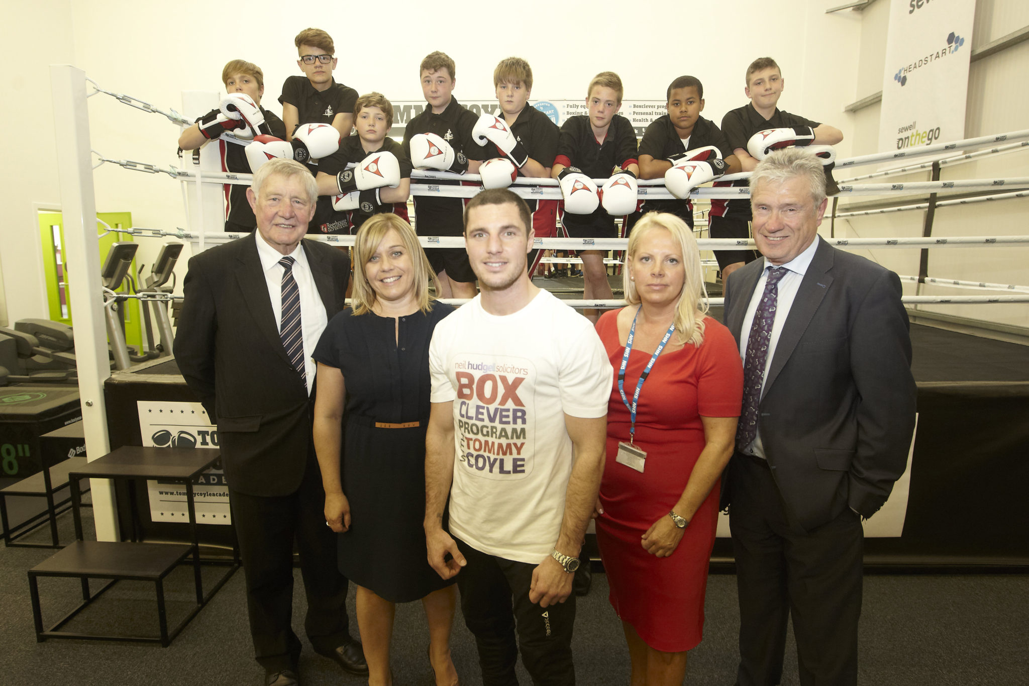 Hudgell Solicitors Trust delighted to support Tommy Coyle as he launches his second Hull boxing academy
