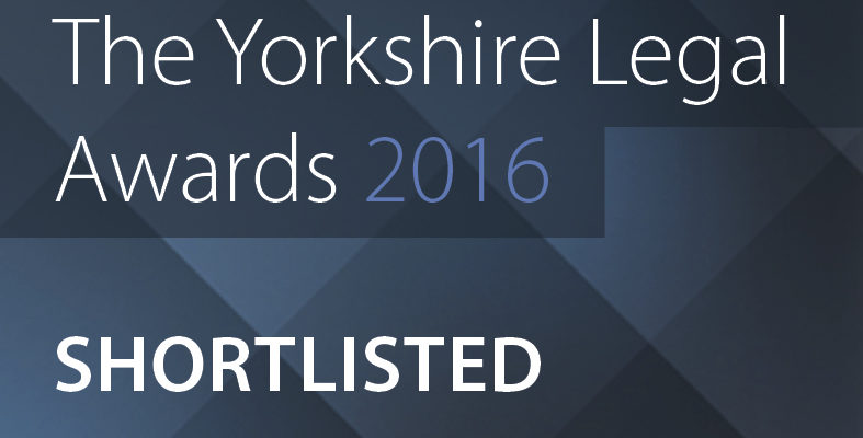 Hudgell Solicitors hoping for double success at Yorkshire Legal Awards