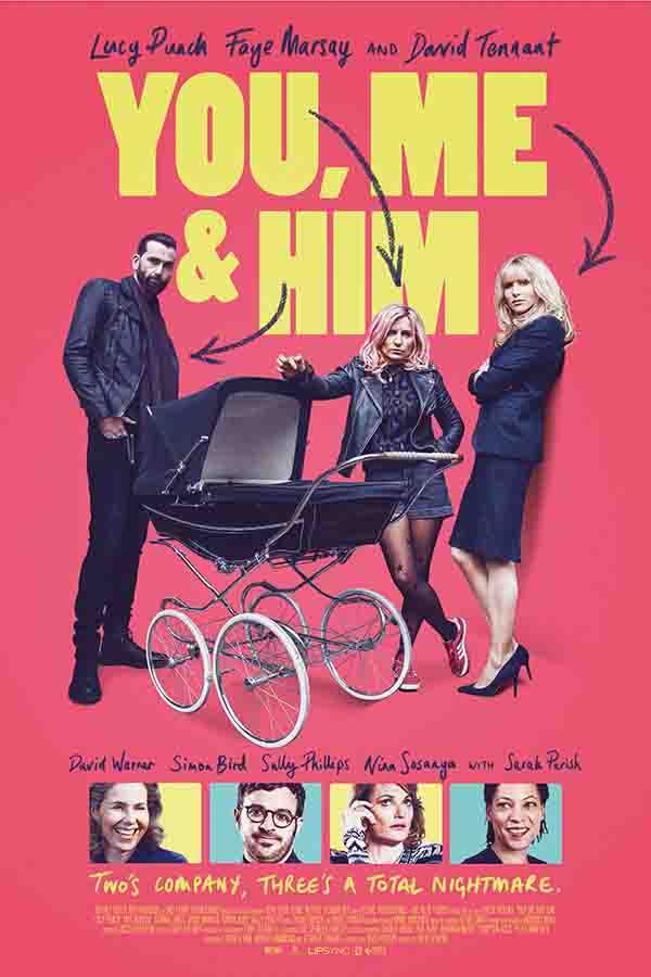 Birmingham cinema premiere of David Tennant film 'You, Me and Him' to raise money for 'Monitoring for Mums' appeal