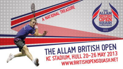 Neil Hudgell Solicitors Announced as Allam British Open Squash Championships Partner