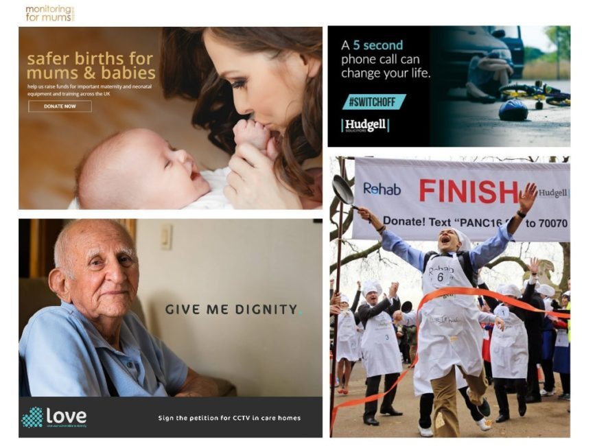 From maternity wards to care homes: Hudgell Solicitors campaigned to improve health for all in 2016