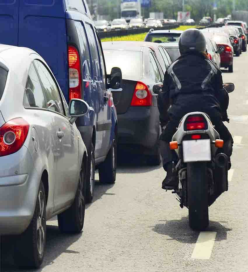 Biker awarded injury damages as legal case saw driver who hit him found 100% at fault for crash
