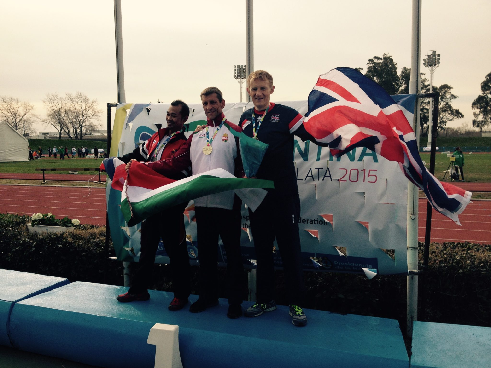 Success for Mark Swift at World Transplant Games following support of Neil Hudgell Trust