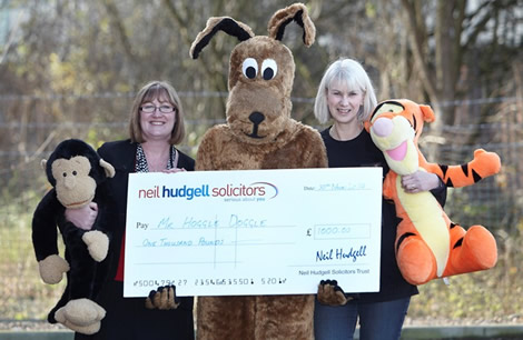 Neil Hudgell Solicitors Trust gives over £12,000 to 11 Yorkshire charities, community and sporting organisations