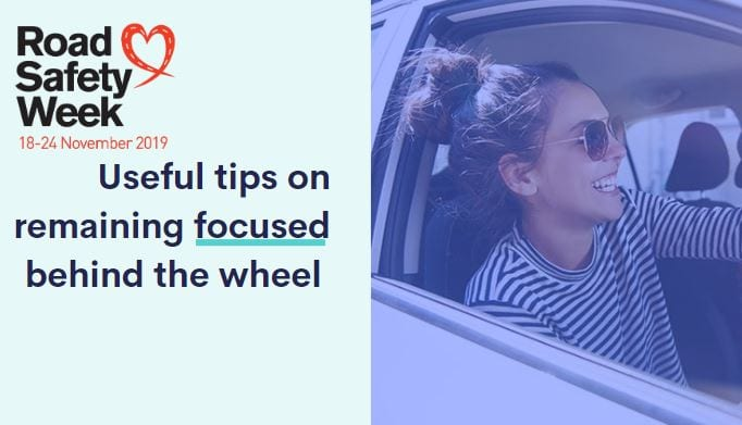 Tips on avoiding everyday driving distractions