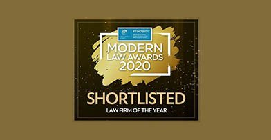 Law firm of the Year shortlisting recognises success of 'bold' move into new work areas and development of in-house teams