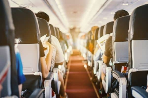 £5,000 damages for client who had hot water spilled on her during an in-flight accident