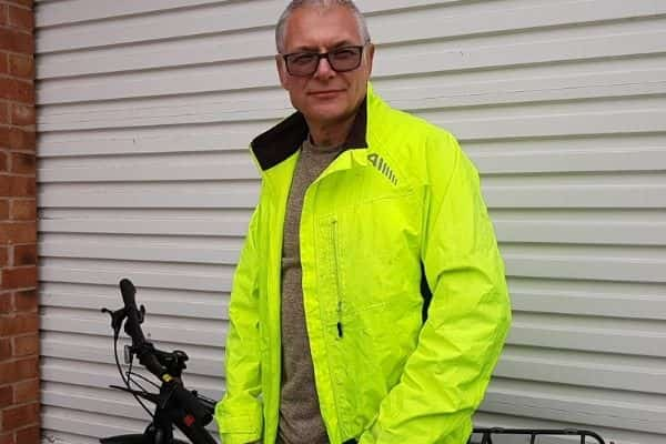 £17,500 damages for former radio producer and presenter who suffered broken collarbone when knocked off his bike on his way to work