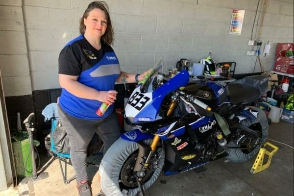 Motorcycle accident campaign to draw on legal executive's passion for race team