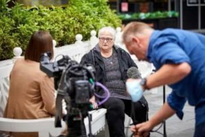 June Tron, mother of Philip, is interviewed after the Manchester Arena Inquiry findings were published