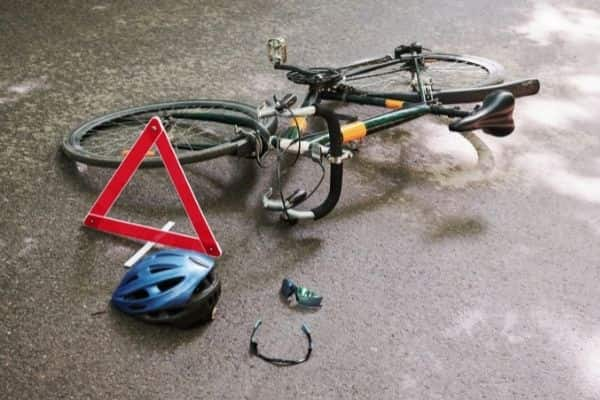 Client's 'absolutely horrible' cycling accident highlights issue of debris left in road by farmers