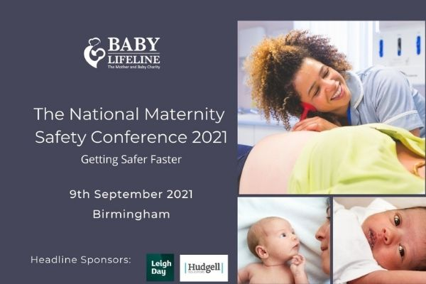 Why we're proud to sponsor Baby Lifeline's National Maternity Safety Conference – and contribute important patient research