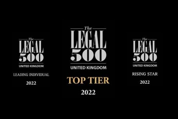 2022 Legal 500: Neil Hudgell named 'leading individual' for civil liberties and human rights as injury and clinical negligence claims work hailed in guide