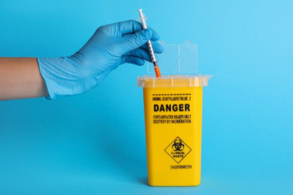 Hospital cleaner's seven months of stress and fear show how vital it is to dispose of used needles properly